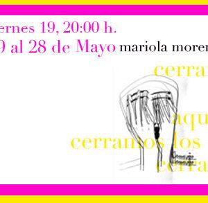 2006 – 08. Aquí no cerramos los ojos