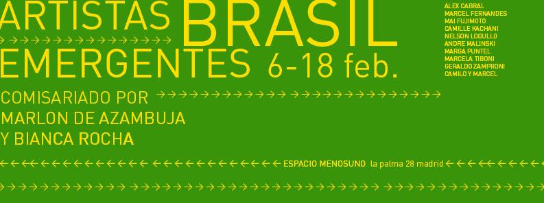 2008 – 04. Artistas Emergentes de BRASIL