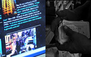 27.05.2012. HOY! proyección de Autosaurio Rietti + Trueque