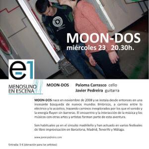 23.05.2012. Menosuno en escena presenta a MOON-DOS