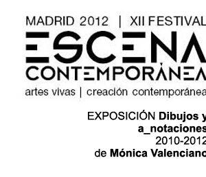 2012 – 01. Escena Contemporánea XII – Dibujos y a_notaciones