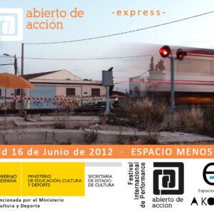 16.06.2012. CCE CCE – A Ko.Zinha + Abierto de Acción